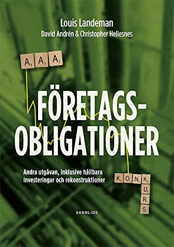 Omslag Företagsobligationer - från AAA till konkurs, andra upplagan